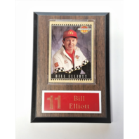 1992 Maxx #4 Bill Elliott McDonald's All-Star Race Team Card On Plaque