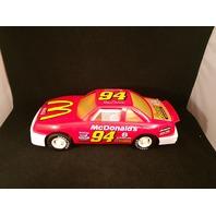 "Vtg American Plastic Toys Inc BILL Elliott #94 McDonald's Race Car NASCAR 15"""
