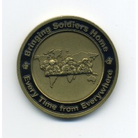 """US Army UH-60 Black Hawk Helicopter Challenge Coin Bringing Soldiers Home 1.5"""""""