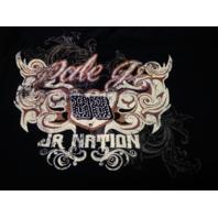 Chase Authentics NASCAR Dale Earnhardt Jr 88 Black V-Neck T-Shirt Womens 2XL
