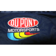 Chase Authentics NASCAR Jeff Gordon 24 Dupont Navy Blue Mesh Shirt Size L