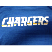 Nike Dri-Fit Blue San Diego Los Angeles Chargers Athletic Shirt Size 2XL XXL NFL