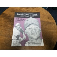 1995 SABR Baseball Research Journal #24 Dick Allen, Minor League Homerun Hitters