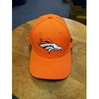 New Era 39Thirty Orange Denver Broncos Fitted Ball Cap Hat Size M/L