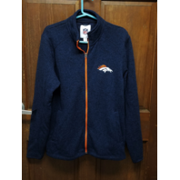 G-III Official NFL Denver Broncos Full Zip Fleece Jacket Mens's Size M