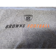 Reebok NFL Equipment Cleveland Browns Football Heather Gray T-shirt Unsized