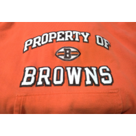 Reebok NFL Gridiron Classic Property Cleveland Browns Orange Pullover Hoodie XL