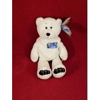 Limited Treasures Barry Sanders #20 White Beanie Plush Bear #1380/12500 Lions