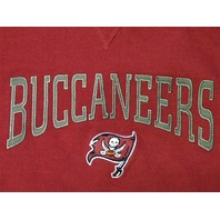 NFL Team Apparel Red Tampa Bay Buccaneers Pullover Hoodie Size 2XL Football