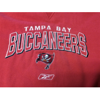 Reebok Red Tampa Bay Buccaneers Sweatshirt Men's Size XL Football NFL