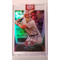 MIKE TROUT 2019 Topps Archives Signature Series 1/1 (2012 Bowman Platinum)