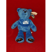 Limited Treasures Charlie Batch #10 Blue Beanie Plush Bear #4727 Detroit Lions