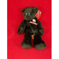 Limited Treasures Chris Chandler #12 Black Beanie Plush Bear Atlanta Falcons