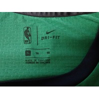 NBA Boston Celtics Long Sleeve Dri-Fit Performance Shirt Green & Black Size XL