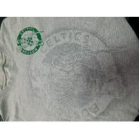 UNK Boston Celtics Gray T-shirt Tee Men's Size M Medium Basketball