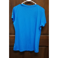 Dri-Fit Blue San Diego Los Angeles Chargers Athletic Shirt Women's Size L