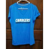 Dri-Fit Blue San Diego Los Angeles Chargers Athletic Shirt Women's Size L