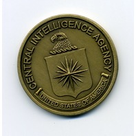 U.S. Central Intelligence Agency CIA Challenge Coin - Engravable - 1.5""
