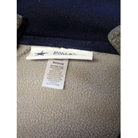 Dallas Cowboys Authentic Heather Gray 1/4 Zip Pullover Jacket Size M Medium