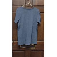 Dallas Cowboys Authentic Women's Light Blue V-Neck T-Shirt Size L Football