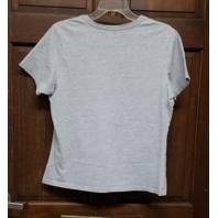 RBK Women's Gray Dallas Cowboys T-Shirt Pink Glitter Size XL