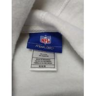Reebok NFL Blue White Dallas Cowboys Pullover Hoodie Sweatshirt Size M Oversized