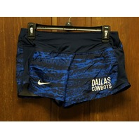 NFL Team Apparel Dallas Cowboys Dri-Fit Running Shorts Women's Size S Small