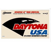 "Americrown DAYTONA USA Static Cling Decal Sticker Racing 4"" x 5"" NASCAR NOS"