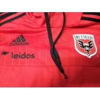 Adidas D.C. United Red Pullover Hoodie Jacket Size S MLS Soccer