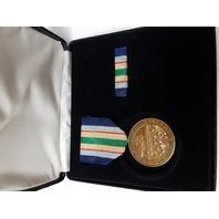 D-Day World War II WWII WW2 Commemorative Medal Presentation Set