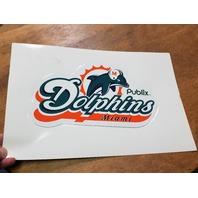 Miami Dolphins Fan Collectibles Lot Umbrella Poncho Mini Football Car Magnet
