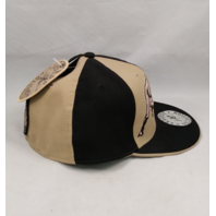 """Tony Dorsett #33 Legends Collection Fitted Cap Hat 7-3/4"""" Tan & Black NEW NWT"""