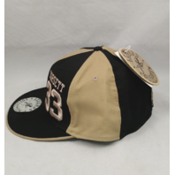 "Tony Dorsett #33 Legends Collection Fitted Cap Hat 7-3/4"" Tan & Black NEW NWT"