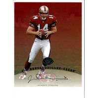 1997 Leaf Authentic Signature 8x10 Card Jim Druckenmiller San Francisco 49ers