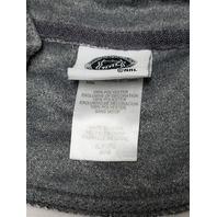 Knight's Apparel Gray Detroit Red Wings 1/4 Zip Jacket Men's Size XL NHL