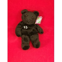 Salvino's Bammers Opening Day David Wells #33 Black Beanie Plush Bear