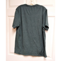 NFL Team Apparel Philadelphia Eagles Green Graphic T-Shirt Size L Football