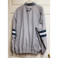 G-III Philadelphia Eagles Reversible Pullover Jacket Gray/Green Size XL NFL