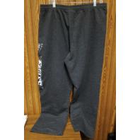 Majestic Philadelphia Eagles Charcoal Gray Sweatpants Pants Size XL Football