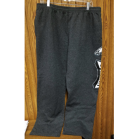 Majestic Philadelphia Eagles Charcoal Gray Sweatpants Pants Size XL Football