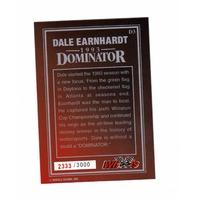 DALE EARNHARDT Wheels 1993 Dominator Jumbo Bonus Card D3 2333/3000 NASCAR Racing