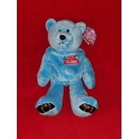 Limited Treasures Eddie George #27 Blue Beanie Plush Bear #2535 Oilers
