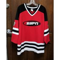 Vtg ESPN National Hockey Night #79 Stitched Hockey Jersey Size M Medium NHL