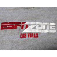 ESPN Zone Las Vegas Gray Graphic T-Shirt Men's Size M  Medium
