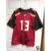Mike Evans #13 Tampa Bay Buccaneers Red Jersey Shirt Size 44 L