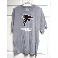 Equipment NFL Training Gray Atlanta Falcons T-Shirt Size L Football