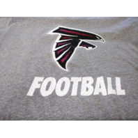 Equipment NFL Training Gray Atlanta Falcons T-Shirt Size L Football