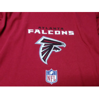 Reebok Red Atlanta Falcons Short Sleeve Graphic T-Shirt Size S NFL Football