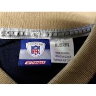 Reebok NFL Equipment Marshall Faulk #28 St Louis Rams Blue Jersey Shirt Sz 2XL