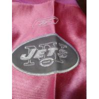 Reebok Pink & Gray New York Jets Brett Favre #4 Jersey Shirt NFL Size 52